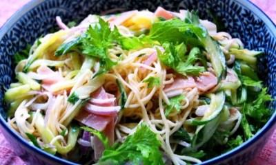 Salada somen (Foto: Aflo Images)