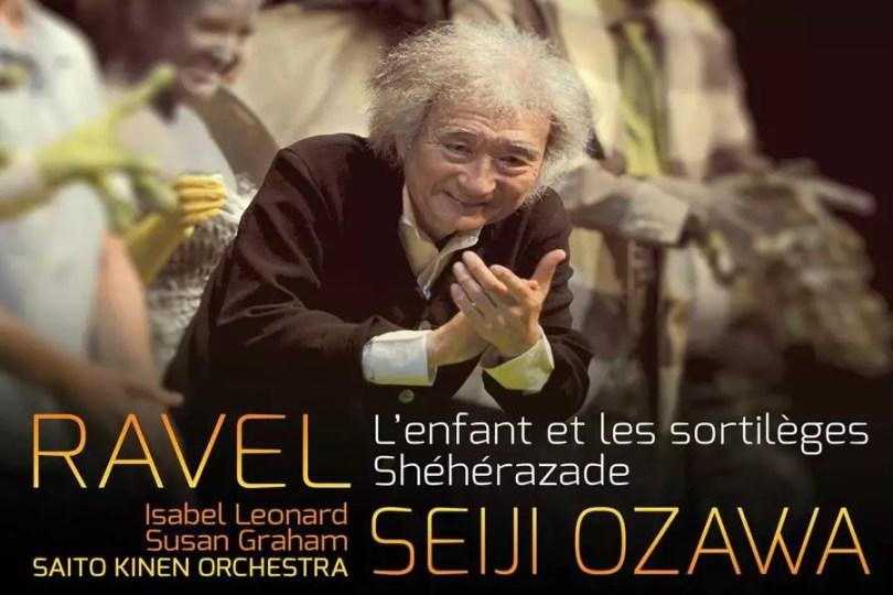 Álbum L'enfant et les Sortilèges; Shéhérazade, de Seiji Ozawa (Foto: Divulgação)