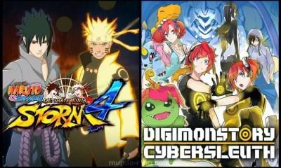 Jogos novos de Naruto e Digimon (Imagem: Montagem Mundo-Nipo)
