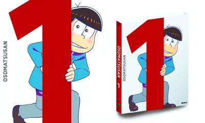 """Volume 1 de """"Osomatsu-san"""" (Foto: Reprodução/Montagem Mundo-Nipo)"""