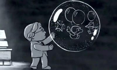 Animação em homenagem a Satoru Iwata (Foto: Reprodução)