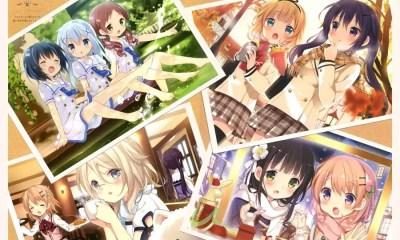 Anime Gochuumon wa Usagi desu ka?? (Foto: Reprodução/Edição de montagem Mundo-Nipo)