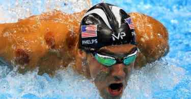 Michael Phelps vence os 200m borboleta nos Jogos Rio-2016 (Foto: The New York Times)