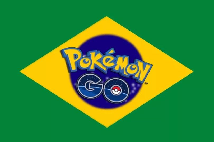 Pokémon Go no Brasil (Imagem: Pokémon Go BR.Club)