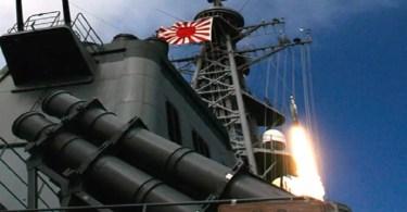 Sistema antimísseis do Japão (Foto: Distribuição/ Força Marítima de Autodefesa do Japão)