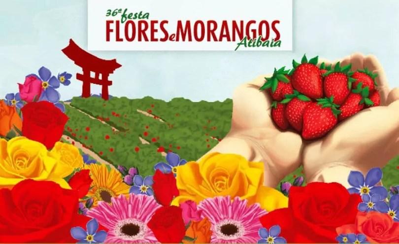 Festa das Flores e Morangos de Atibaia / Divulgação