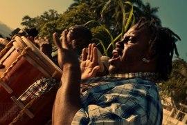 Garifunas, Celebración del Yurumein - foto por Jorge Ortiz