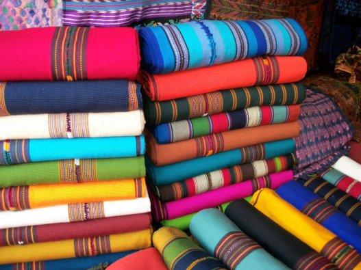 Fotografía de: Waldo Hernández Chang. Día de mercado en Chichicastenango.