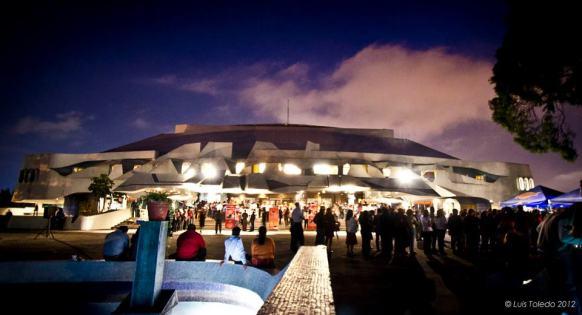 Teatro nacional Miguel Angel Asturias - foto por Luis Felipe Toledo.