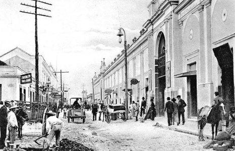 Mercado Central, de la Capital - finales de 1800s