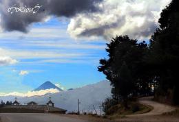 Volcan Santa Maria - foto por Osorious Oso