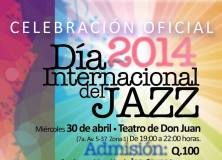 Evento – Jazz Day Guatemala 2014