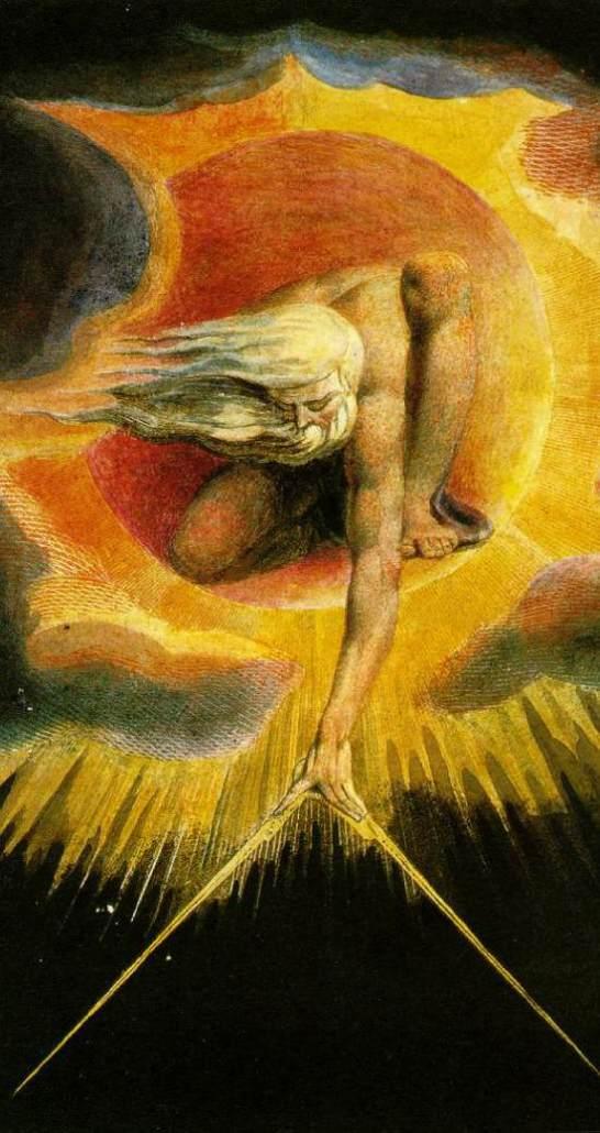 """The Ancient of Days"" por William Blake"