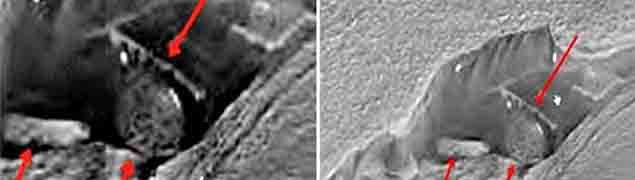 estructuras-extraterrestres-en-marte Imágenes de la NASA muestran estructuras extraterrestres en Marte