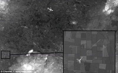 580-mh17 Vuelo MH17: Una foto de satélite muestra que el Boeing fue derribado por un avión de combate