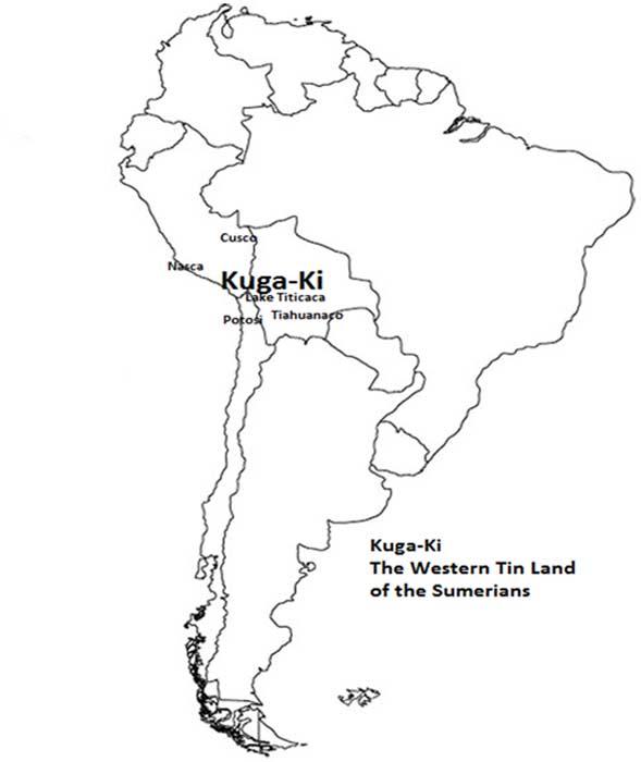Kuga-Ki-1 ¿Fueron Bolivia y Perú la Tierra de los ultimos sumerios?