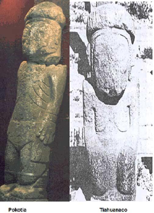 comparacion-estatuas-1 ¿Fueron Bolivia y Perú la Tierra de los ultimos sumerios?