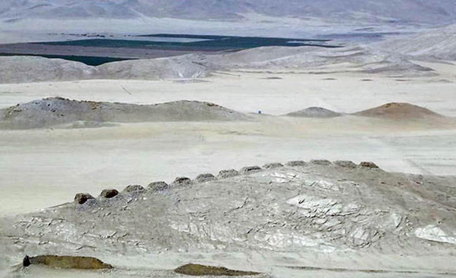 Los trece torres de Chankilla, Perú: antiguo observación astronómica en las Américas