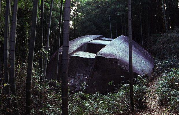 Los monolitos de Asuka Nara y la nave de piedra de Masuda
