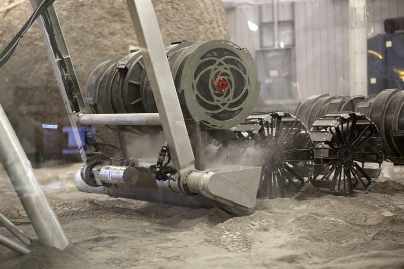 Proyecto RASSOR mineria espacial de la Nasa