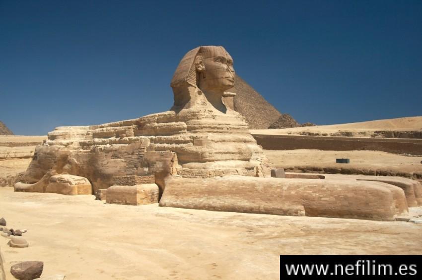 """¡INCREÍBLE! LA VERDADERA EDAD DE LA """"ESFINGE DE GIZA"""" EN EGIPTO"""