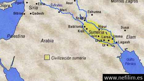0sumeria3 La Lista de Reyes Sumerios que abarca Más de 241.000 Años Antes del Gran Diluvio
