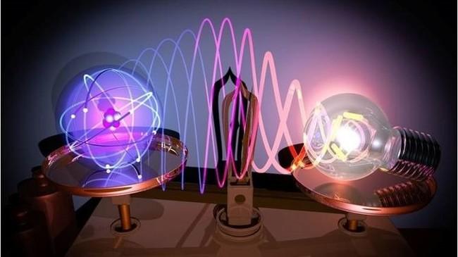 Por primera vez en la historia vemos la unión entre átomos gracias a esto