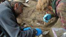 7162066-10982785 Descubren en Alaska restos fósiles de dos niños de la Edad de Hielo
