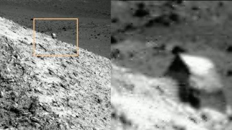 El Opportunity de la NASA Encontró una Estructura artificial En Marte!