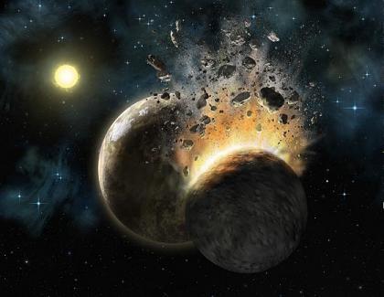 choque Los Cataclismos de Marte y Venus