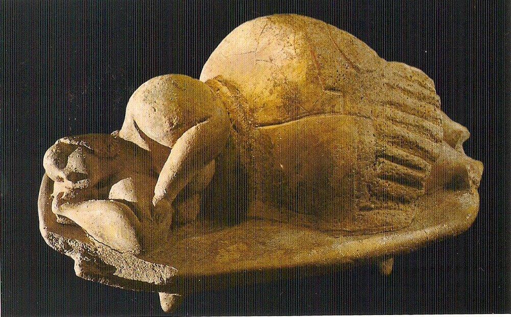 fat03 Templos IMPOSIBLES de una religión PREHISTÓRICA anterior a Adán: Los templos de Hagar Qim en Malta