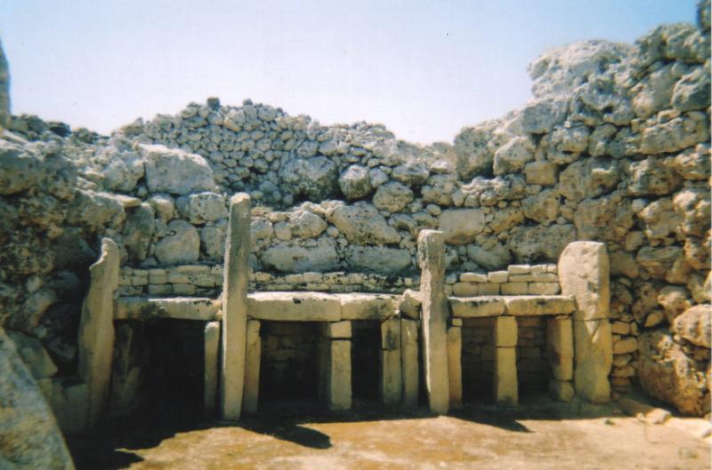 ggantija Templos IMPOSIBLES de una religión PREHISTÓRICA anterior a Adán: Los templos de Hagar Qim en Malta
