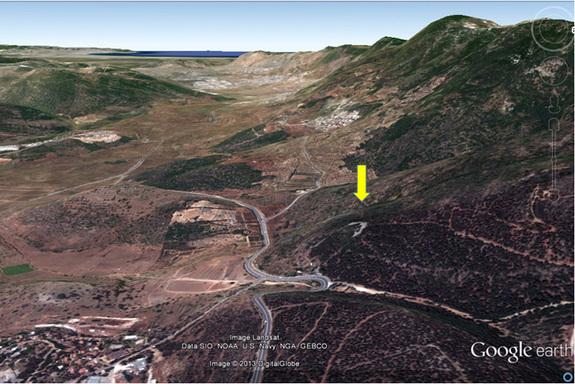 israelstonemonument2 Identifican una gran estructura en forma de media luna, de hace unos 5.000 años, en Israel