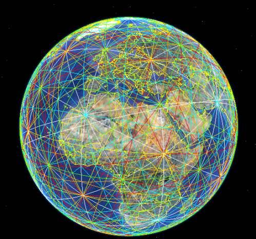 Las asombrosas conexiones en línea recta entre las antiguas civilizaciones