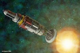 orionNucpulsedrive Proyecto longshot misión alpha centaury