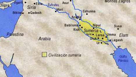 sumeria3 LA LISTA DE REYES SUMERIOS QUE SE EXTIENDE POR MÁS DE 241.000 AÑOS ANTES DEL GRAN DILUVIO