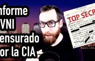 El increíble documento secuestrado por la CIA sobre los ovnis