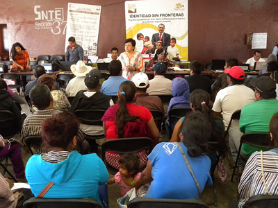 Acerca Registro Civil servicios registrales a jornaleros de San Quintín