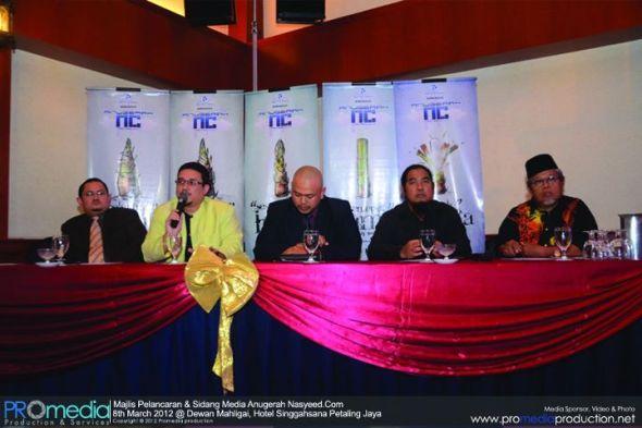 Khairulnizam sedang menjawab soalan sewwaktu sesi Soal Jawab Bersama Media. Gambar ihsan: Pro Media Production.