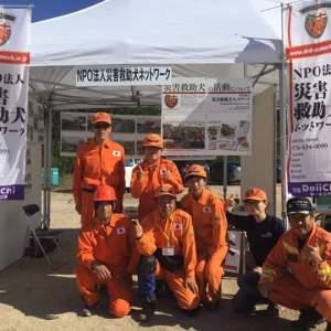 8月23日東広島市総合防災訓練に参加