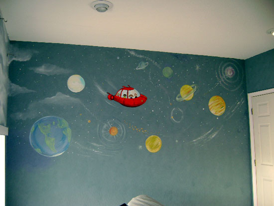 Little Einsteins Children's Murals