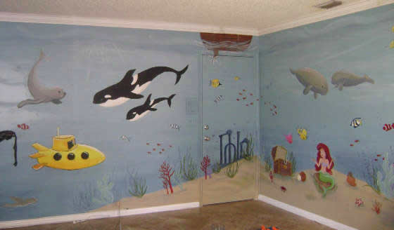 Underwater Mural- West Palm Beach , FL