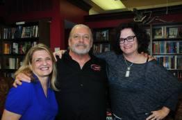 Joanne, Jeff Lindsay and Michelle Putnik at Jeff Lindsay's book signing November 6, 2015.