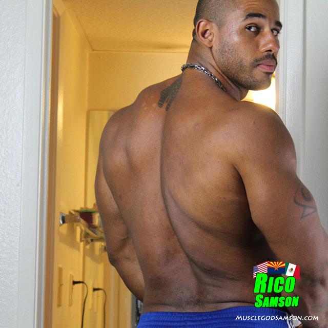 black bodybuilder rico samson photos 4
