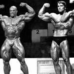 RonnieColeman y ArnoldSchwarzenegger-Desarrollo-Muscular