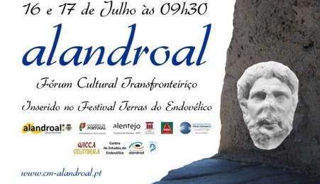 "Consorcio Museo Etnográfico ""González Santana"". Olivenza. Extremadura. Cartel Congreso Alandroal"