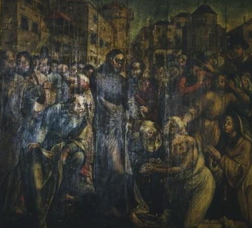 """Museo Etnográfico. """"González Santana"""". Olivenza. Extremadura. Pieza del Mes. La Resurreción de Lázaro ce-2896-pintura-sobre-tabla-la-resurreccion-de-lazaro"""