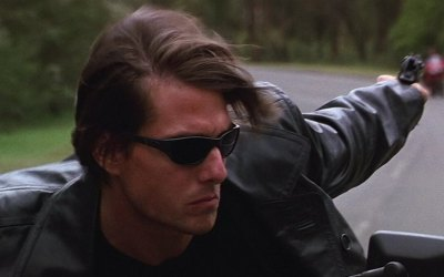 Tom Cruise at the weekend