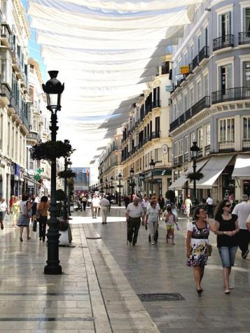 Malaga, Spain. A very nice place. Presenting at an annual conference we present at most years. It's usually great fun but this year I was working on a pitch at the same time and so spent most of my time stuck in the hotel working while James gadded the night away with old friends from previous years. We won the pitch though.