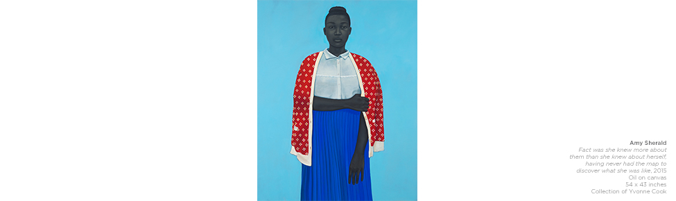 Amy Sherald | 'Freeing herself was one thing, claiming ownership of that freedom was another (red hair),' 2015